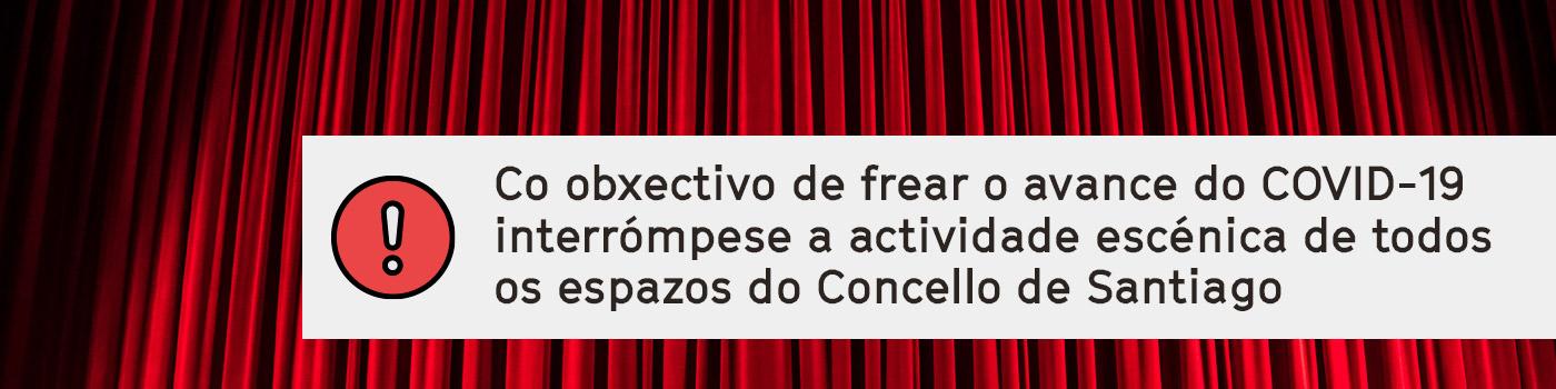 COMUNICADO DE CESE DA ACTIVIDADE CULTURAL